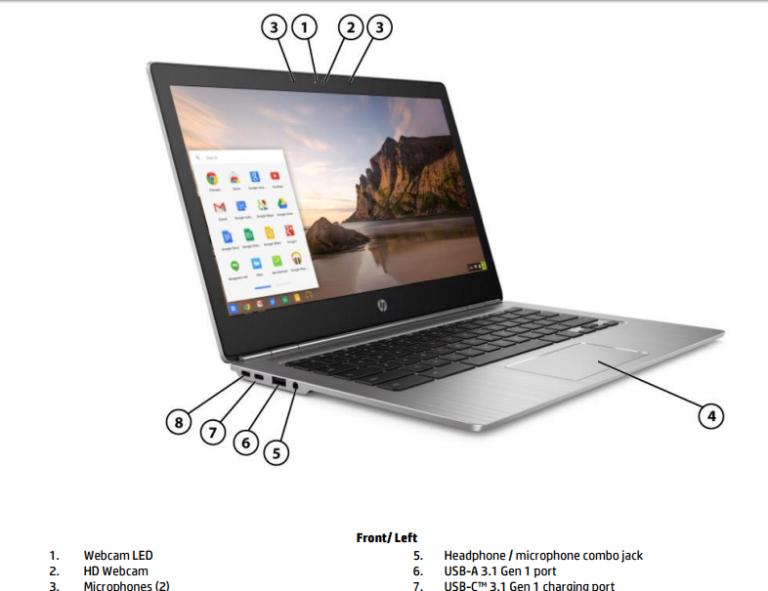 【続報】hp Chromebook 13 G1の詳細がまた少し明らかに