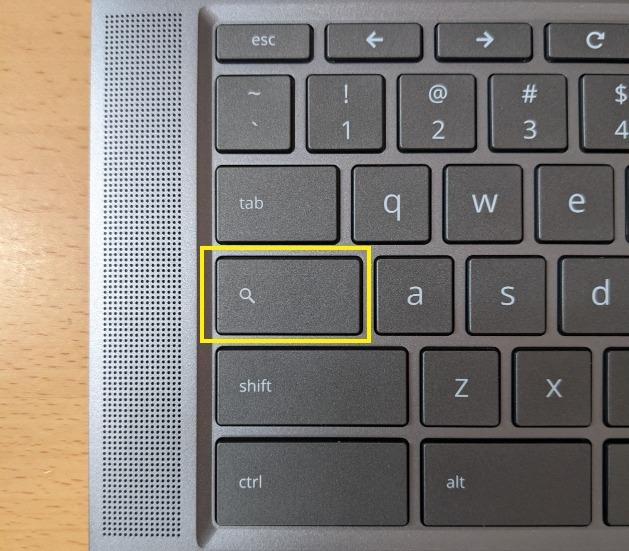 Chromebook 検索キー